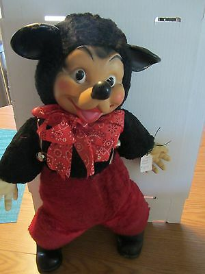 VINTAGE MY-TOY CO. MOUSE PLUSH