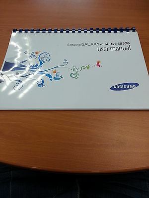 Samsung Galaxy Mini Gt-S5570 126 Pages Printed User Manual Guide