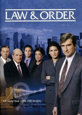 Law & Order ~ Complete 9th Ninth Year Season 9 Nine ~ BRAND NEW 5-DISC DVD SET