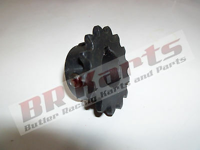 "10T Tooth #35 Sprocket Gear with 3/4"" Bore for Jackshaft Mini Bike Go Kart - NEW"