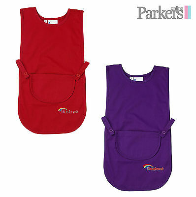 New Official Uniform Girls Rainbows Tabard Red Violet Purple Small Medium Large