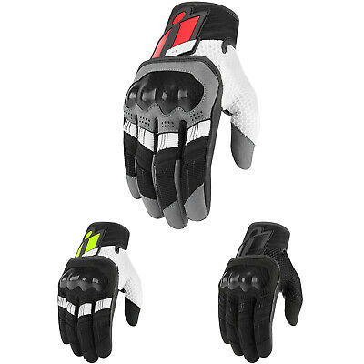 *SHIPS SAME DAY* ICON Men's Overlord Motorcycle Gloves (All Colors)