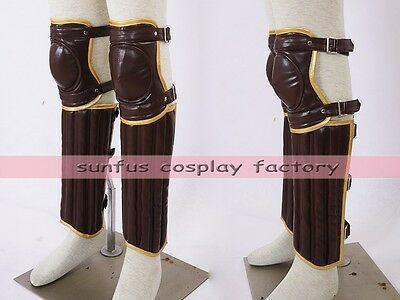 Harry Potter movies Leg & Arm guard Gloves cosplay Quidditch costume Leather