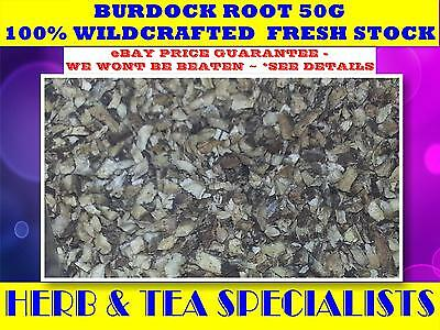 BURDOCK ROOT 50G ☆Arctium lappa☆DRIED HERB☆DETOX ☆ PREMIUM STOCK  FREE POST