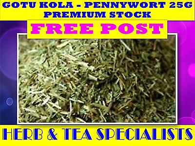 GOTU KOLA - PENNYWORT 25G TEA☆ FRESH PREMIUM STOCK☆ Centella asiatica☆ FREE POST