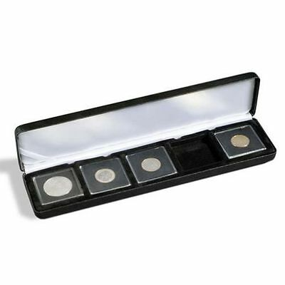 Lighthouse Nobile Q5 Quadrum Five (5) Coin Leatherette Display/Presentation Box