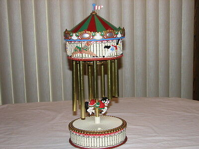 Merry Go Round Chimes, Battery Activated