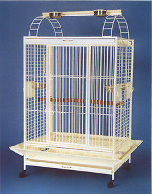 New Large Bird Cage Parrot Cages Macaw Play Top 0664-157