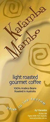 2Kg Light Roasted Gourmet Coffee Beans - Karamba Mambo