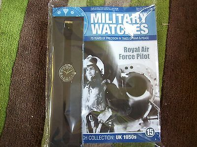 Military Watches Magazine Collection Issue 15  RAF Pilot 1950's