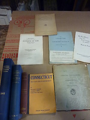 17 Connecticut political STATE history LEGISLATURE general assembly documents