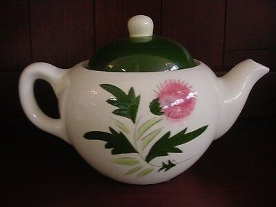 THISTLE, STANGL POTTERY, TEA POT GOOD CONDITION, 40 OZ.