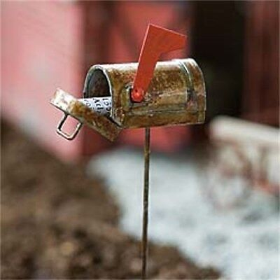 My Fairy Gardens Mini - Rustic Mailbox - Supplies
