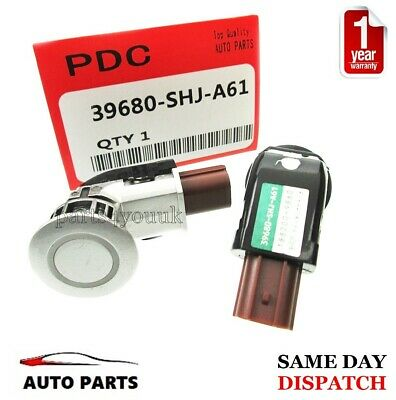 GENUINE PARKING SENSOR for HONDA CRV 2007-2012 FRONT / REAR 39680-SHJ-A61 SILVER