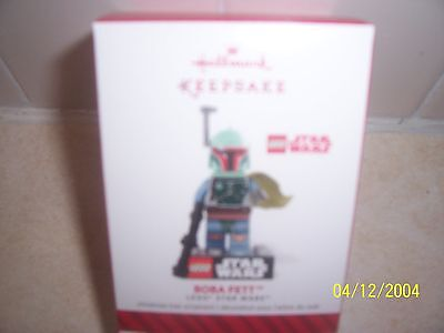 "2014 Hallmark Ornament  ""BOBA FETT"" LEGO STAR WARS"" (MIB)"