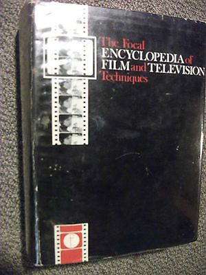 The Focal Encyclopedia of Film & Television Techniques 1969 Vintage Textbook