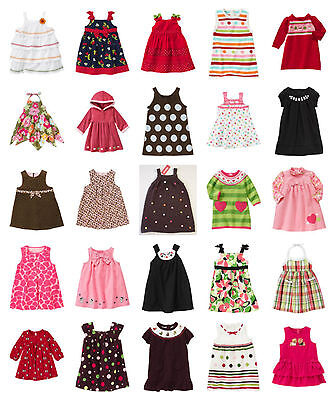 NWT Gymboree Baby Toddler Girl DRESS ROMPER Options