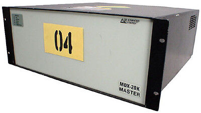 Advanced Energy MDX 10K DC Magnetron Power Supply  Tag #04