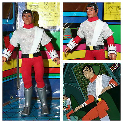 "Vintage Mego 8"" Star Trek Custom Romulan Officer in Animated Series Attire"