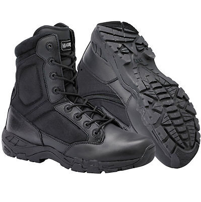 Magnum Viper  Waterproof Composite Toe Size Zip Tactical Police/Security Boots