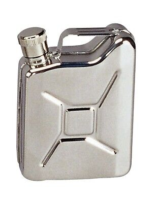 Stainless Steel 6oz Jerry Can Flask 643 Rothco
