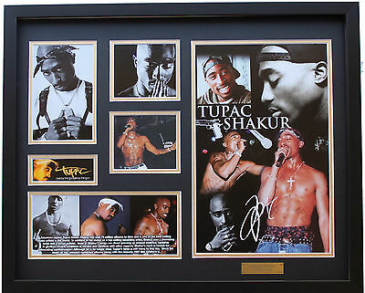 New 2 Pac Tupac Signed Limited Edition Memorabilia