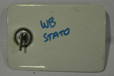 Genuine HOLDEN WB STATESMAN FUEL FLAP DOOR COVER - WHITE - WITH KEY