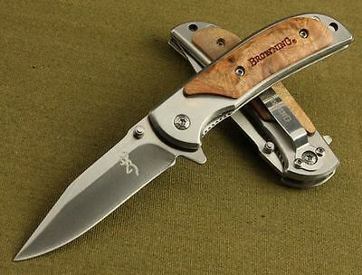 Browning 338 Navaja Tactica Militar Knife Messer Couteau Coltello Mes Kniv Нож