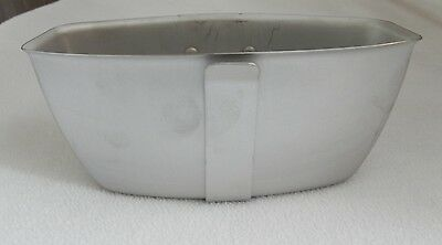 New Government Issue US Military Surplus Arctic Canteen Cup Built In Handle
