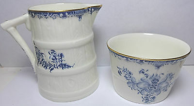ROYAL WORCESTER MANSFIELD INDIVIDUAL CREAMER & SUGAR SCARCE EXCELLENT