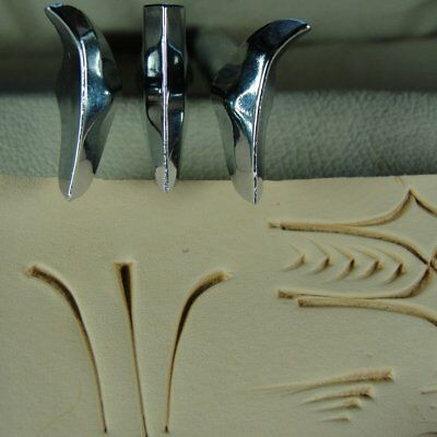 Contemporary Craftool Co. USA? - Decorative Cut Stamps (Set of 3, Leather Tools)