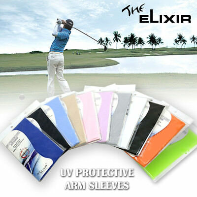 Arm Sleeves Cool Cover Sun Protection Cooling Sleeve Golf Compression 1 Pair