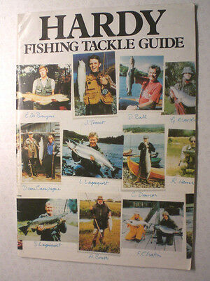 A Scarce Hardy Advertising Fishing Catalogue Tackle Guide (Undated But For 1979)