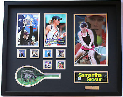 New Samantha Stosur Signed Limited Edition Memorabilia