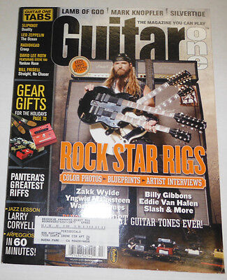 Guitar One Magazine Rock Star Rigs Holiday 2004 091714R