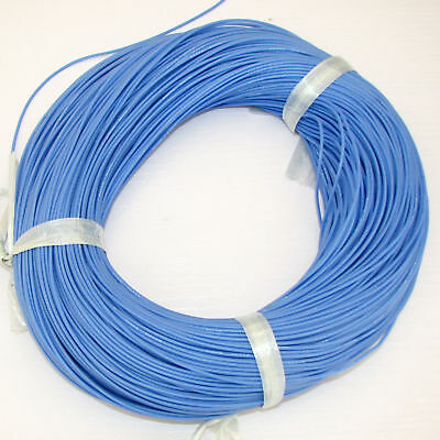 24AWG Soft Silicone Wire Blue X10M Bending & Cold-freeze & High-temperature Resi