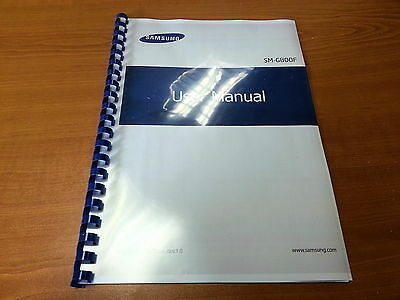 Samsung Galaxy S5 Mini Sm-G800F Printed Instruction Manual User Guide 227 Pages