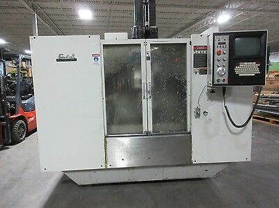 1998 Fadal VMC 3016HT CNN Vertical Machining Center Mill w/ 4th axis 10,000 TSC