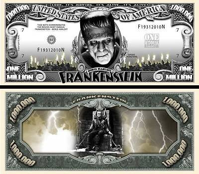 FRANKENSTEIN - MILLION DOLLAR US ! BORIS KARLOFF Universal Monsters horreur 1931