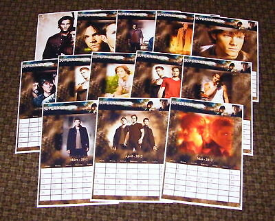 Supernatural  - FanKalender  @NEU@  SP # 1