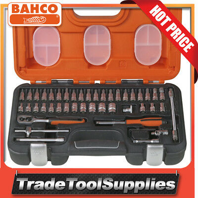 Bahco 46 Piece 1/4in Drive Socket Set S460
