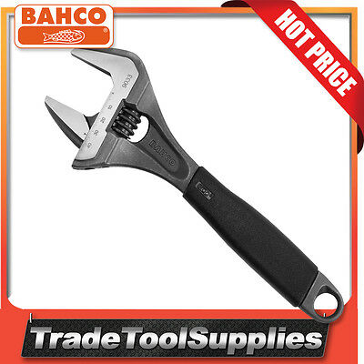 "Bahco Adjustable Wrench 270mm 10 5/8"" Extra Wide Opening 46.5mm 9033"