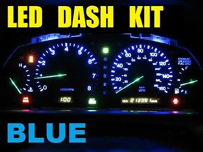 BLUE LED Dash Cluster Mitsubishi Mirage Lancer CB CC CE Blue 5 X LED FAST POST..