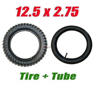 12.5x2.75 Tyre Tire with Inner Tube Set for 47 49cc Scooter Mini ATV Quad Razor