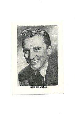 """2.5""""X3.5""""  B/W publicity photo from 40's-50's VG Condition Kirk Douglas"""