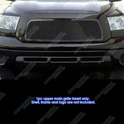 Fits 2007-2009 Toyota Tundra Black Stainless Mesh Grille Insert 2008