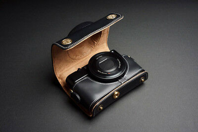 Real Leather Full Camera Case Bag for SONY RX100 V M5 M2 M3 M4 MARK V IV III II