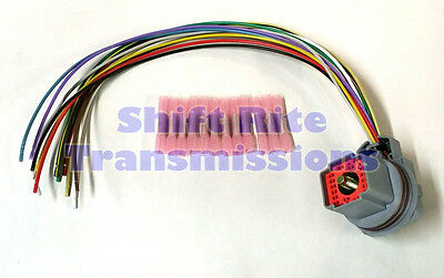 transmission solenoid block wire harness repair kit pigtail 5r55w 5r55s new external wire harness repair solenoid pack pigtail transimission