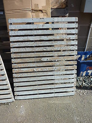 c1930-40's WOODEN slatted fruit VEGETABLE crate side panel GREAT 4 decor 40 x 30