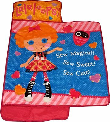 LALALOOPSY Doll Childs NAP MAT Girls Toddler Daycare Preschool BLANKET+PILLOW